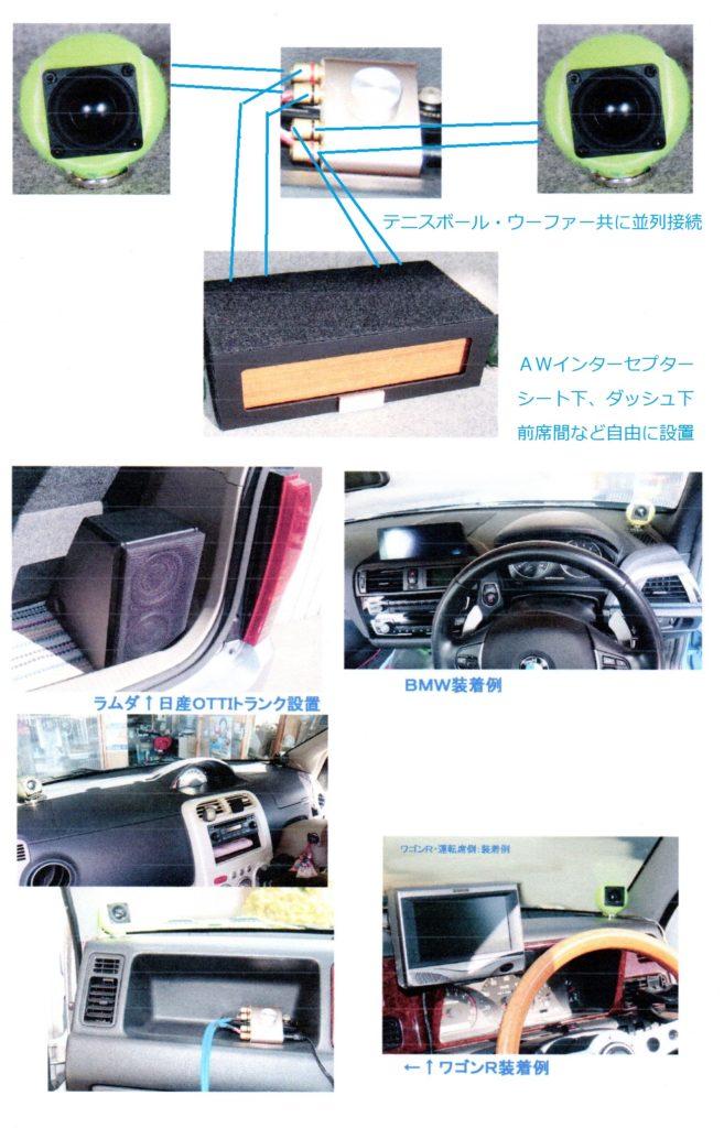 CARコンポ別回路の提案:3D再生